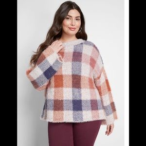 NEW Modcloth Warm Affection Fuzzy Sweater